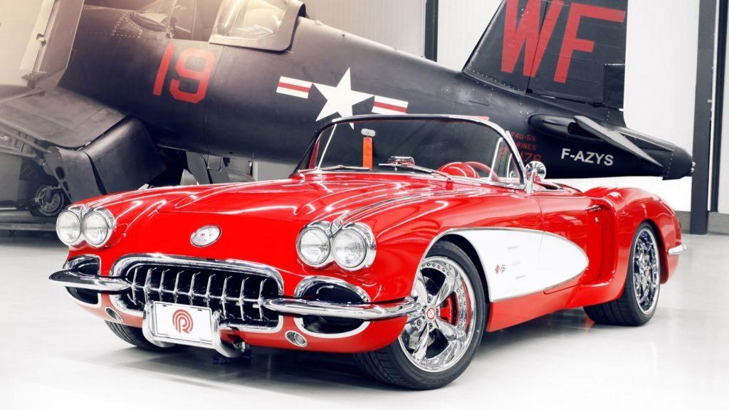 Chevrolet Corvette 1959 года оснастили новым двигателем
