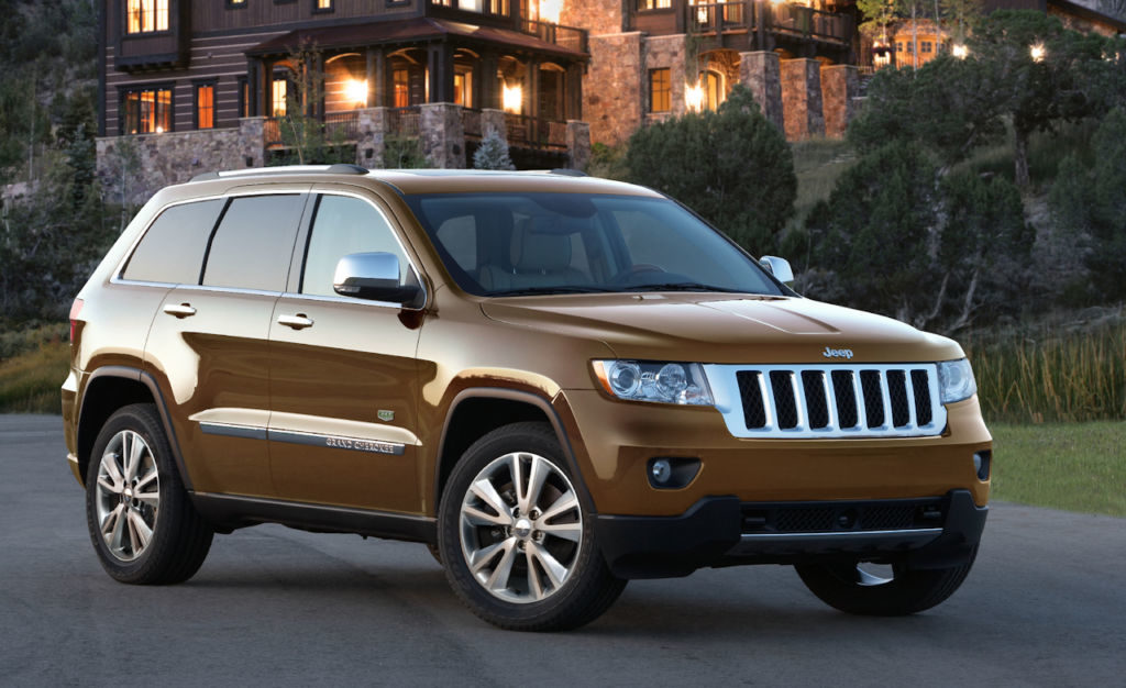 Jeep Grand Cherokee 70th Anniversary Edition
