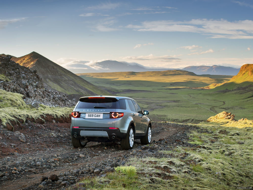 Land Rover Discovery Sport 2015