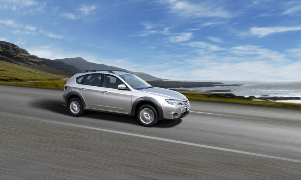 Тест-драйв Subaru Impreza XV
