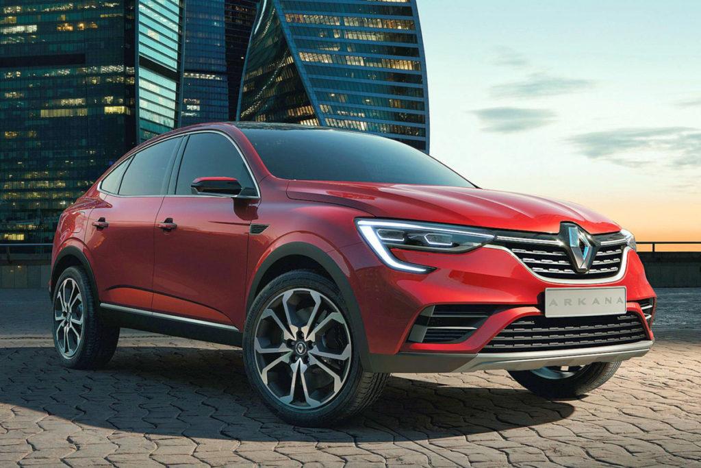 Renault Arkana 2019 модельного года