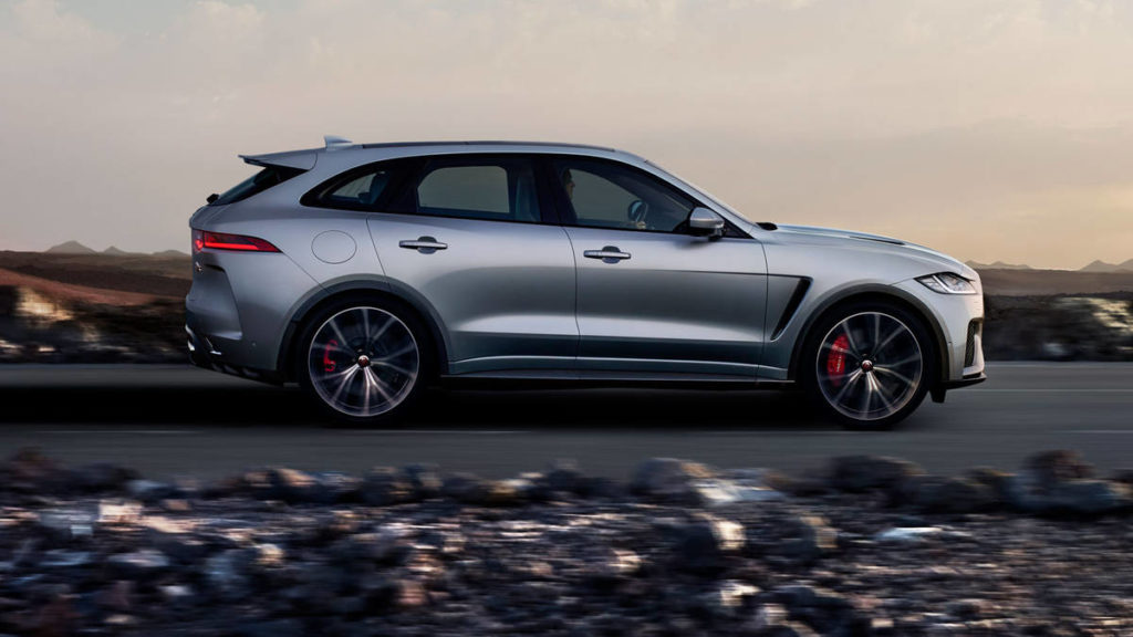 Новый Jaguar F-Pace 2019 года
