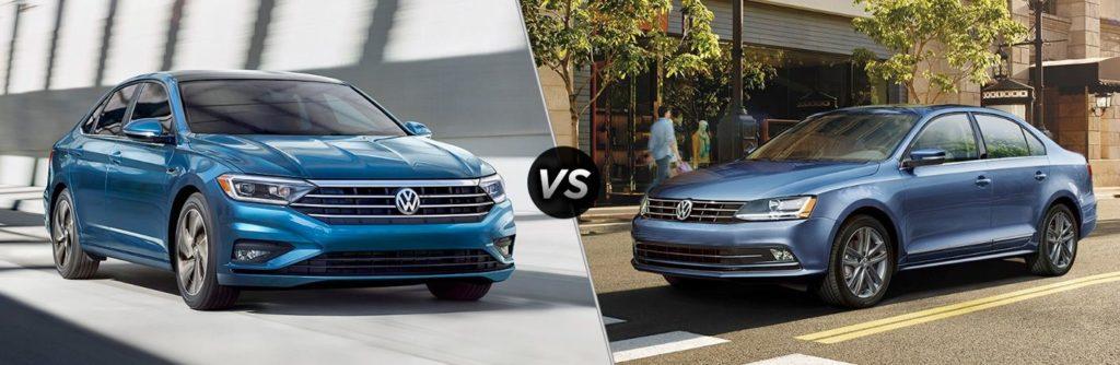 Сравнение 2019 Volkswagen Jetta и 2018 Volkswagen Jetta