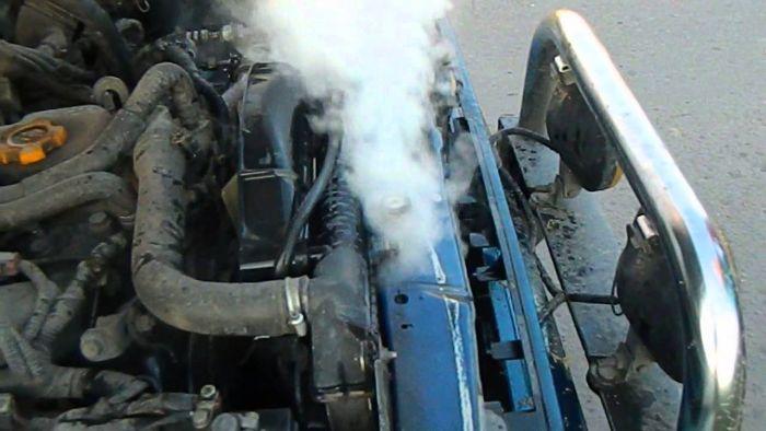 что делать если двигатель закипел
