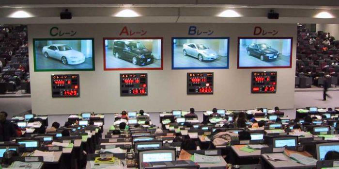 аукцион японских автомобилей в японии